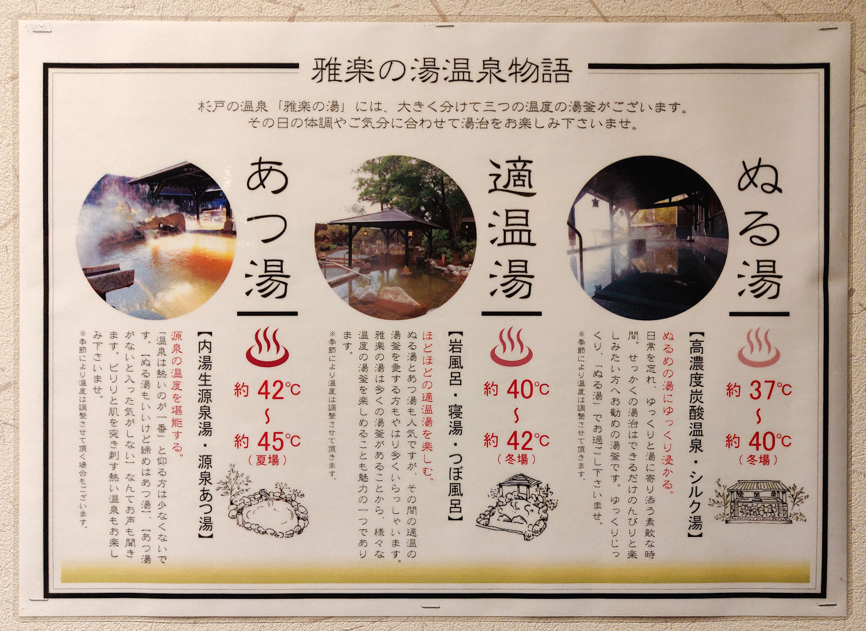 雅楽の湯 温泉物語2