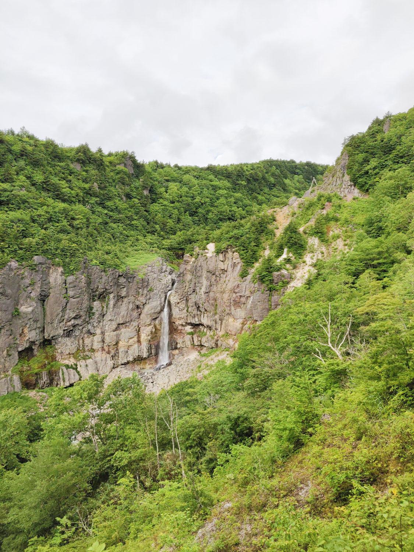 沼尻温泉 白糸の滝