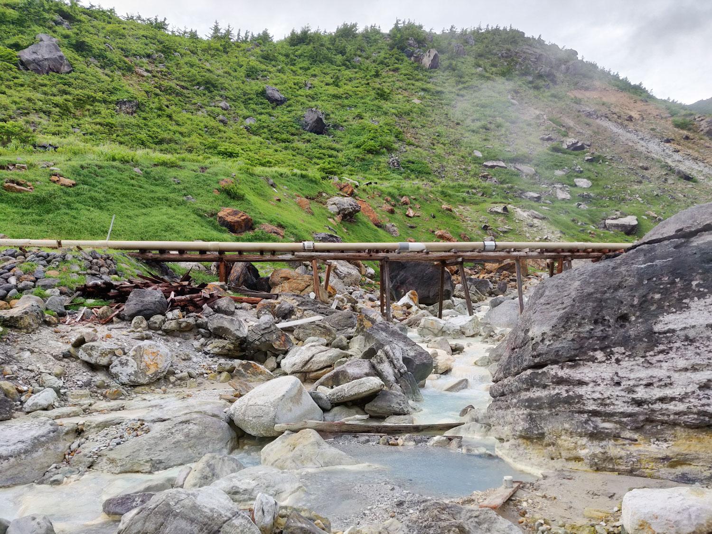 沼尻温泉 マイ浴槽
