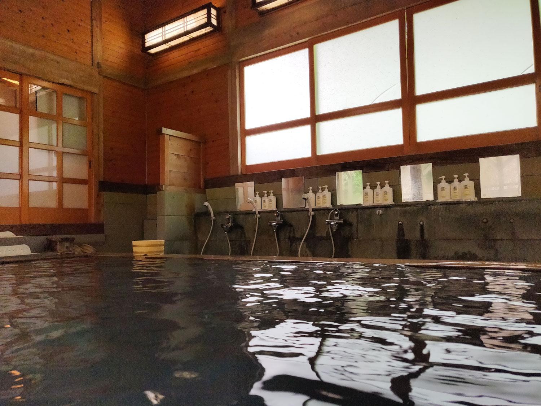2019/7/14 西山温泉 中の湯旅館