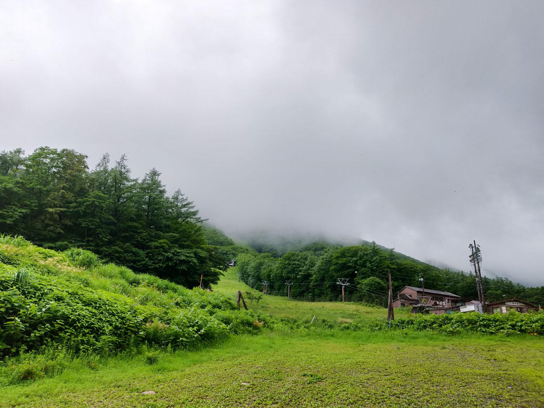 安達太良山 ガス
