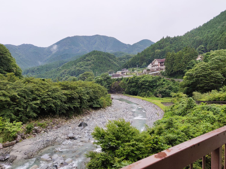 中川温泉信玄館部屋からの風景