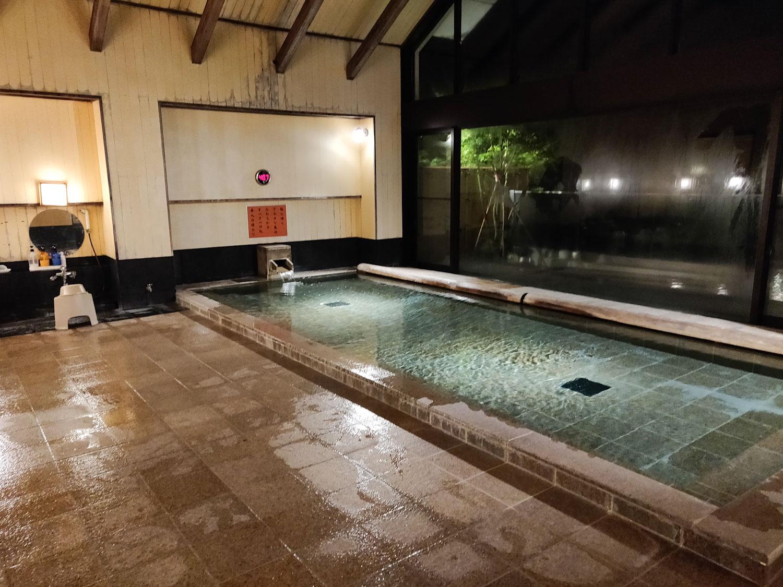 中川温泉信玄館 夢幻の湯内湯俯瞰