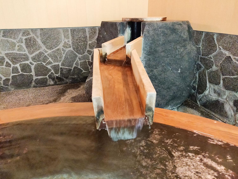 中川温泉信玄館 水光の湯 湯口