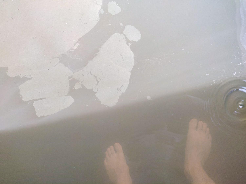 泡の湯温泉三好荘 透明度