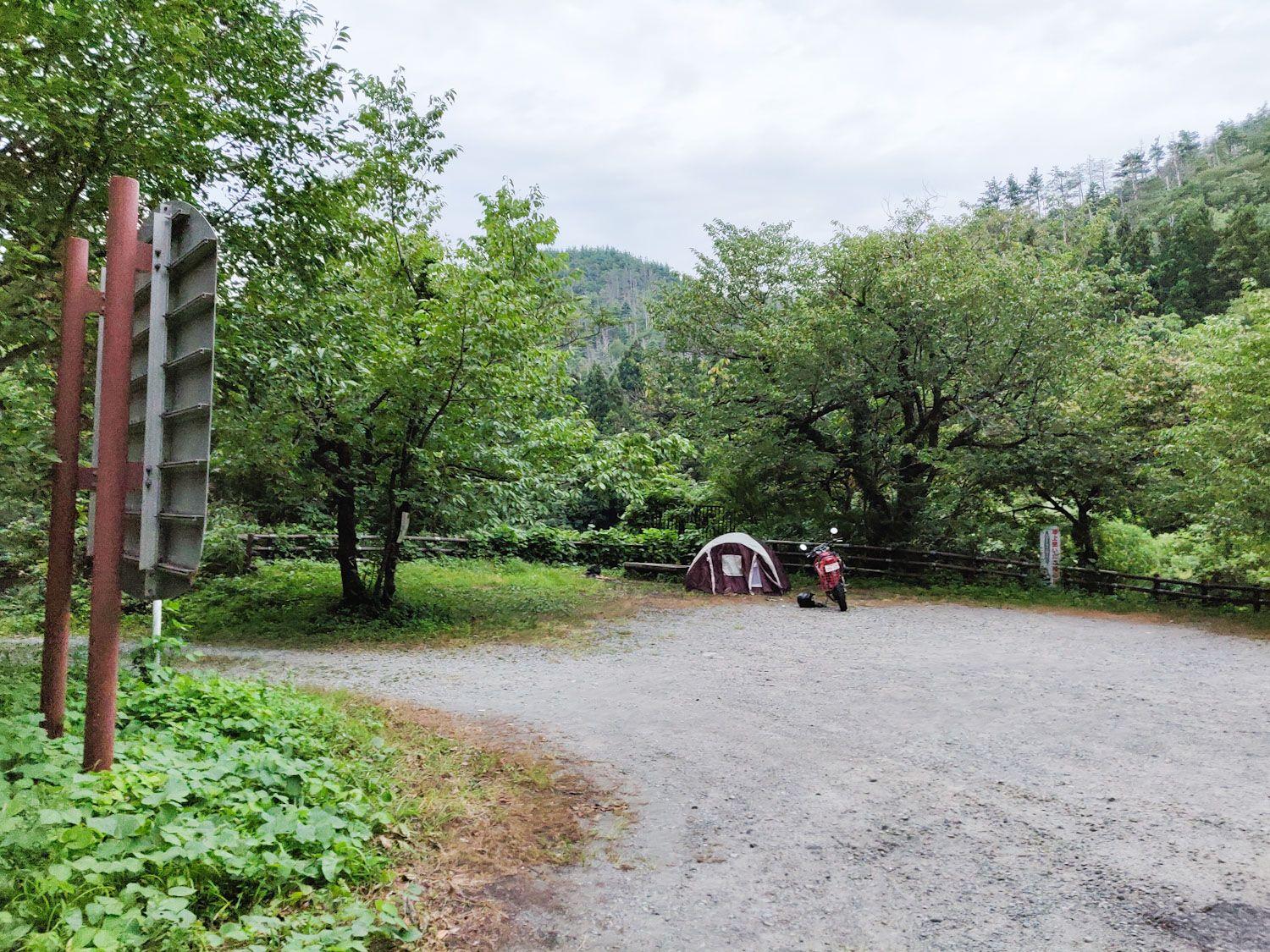 2019/8/18 奥村杉キャンプ場