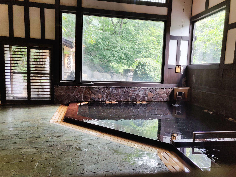 貝掛温泉浴室