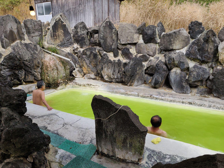 石塚旅館露天風呂