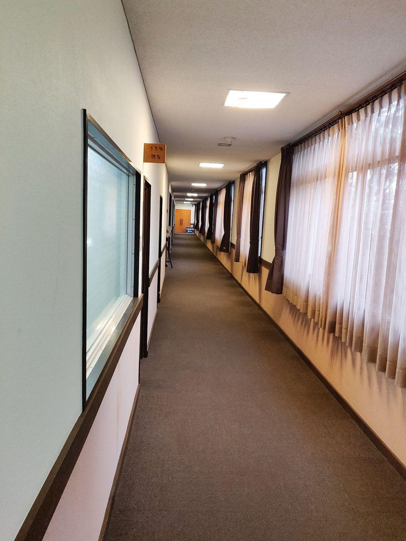 木津温泉ゑびすや 廊下