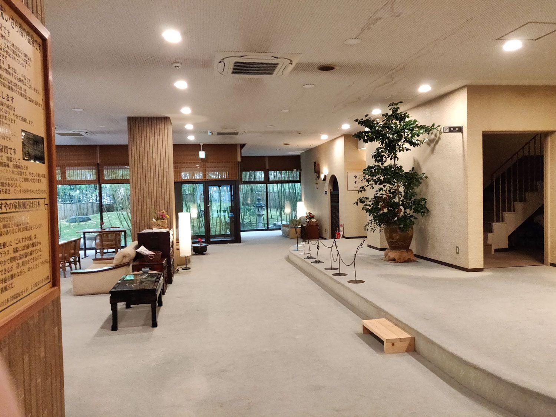木津温泉ゑびすや ロビー