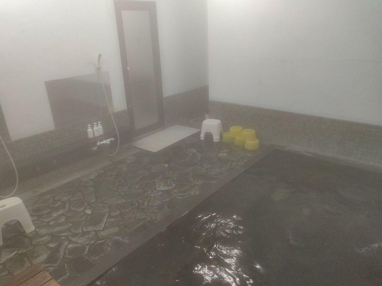 奥土湯温泉 小滝温泉 内風呂入口側