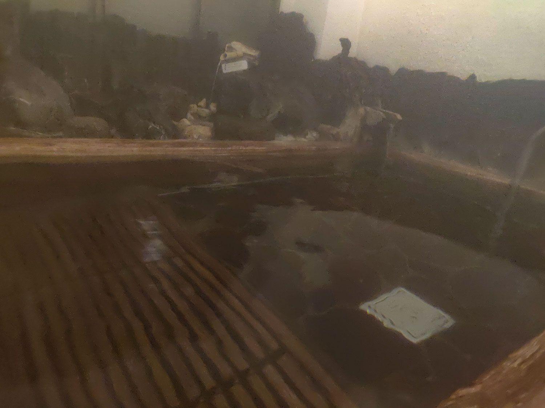 七滝温泉ホテル 家族風呂檜風呂
