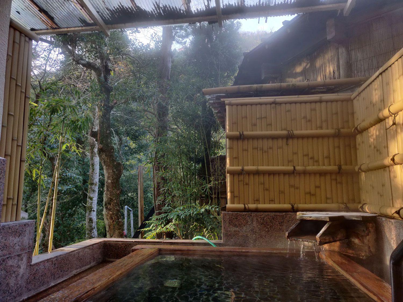 七滝温泉ホテル 家族露天風呂