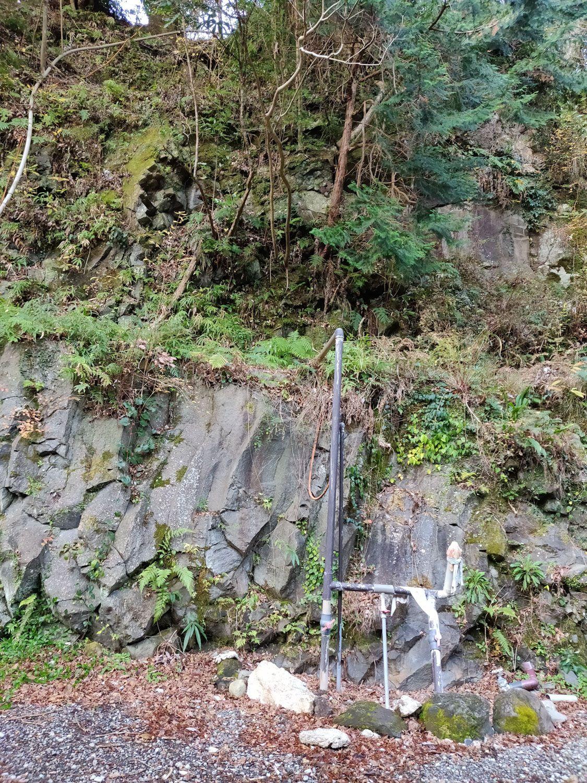 七滝温泉ホテル 洞窟風呂 源泉