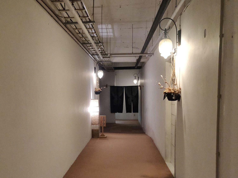 船原温泉 湯治場ほたる 廊下
