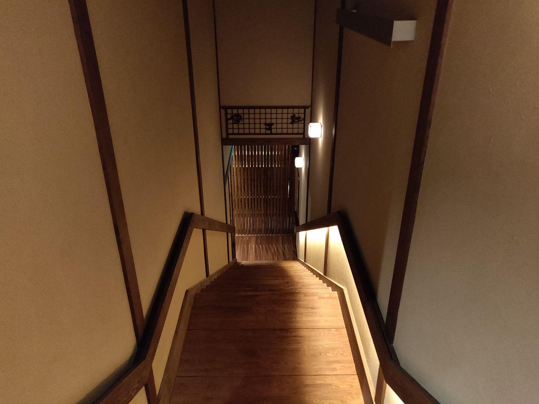 稲村ヶ崎温泉 階段