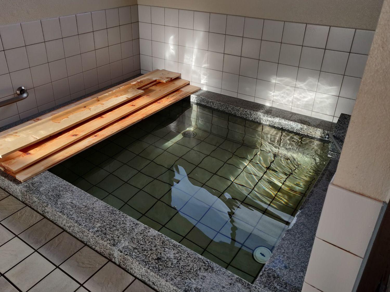 長英の隠れ湯 浴槽
