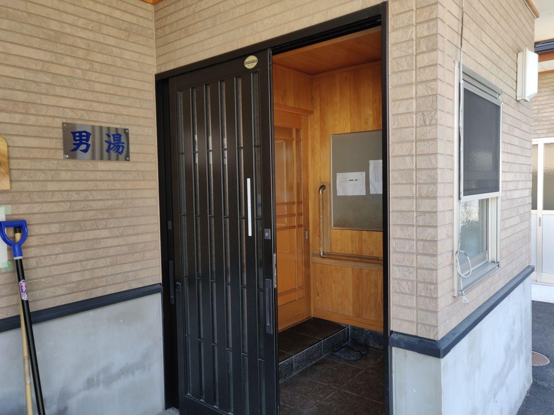 林温泉 玄関