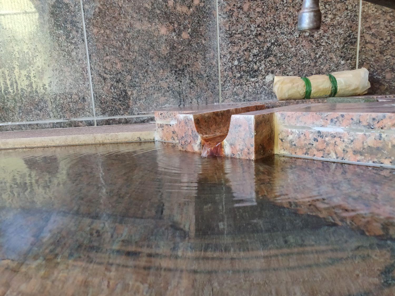 林温泉 入浴中目線