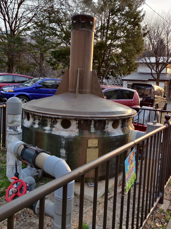 煮川の湯 源泉