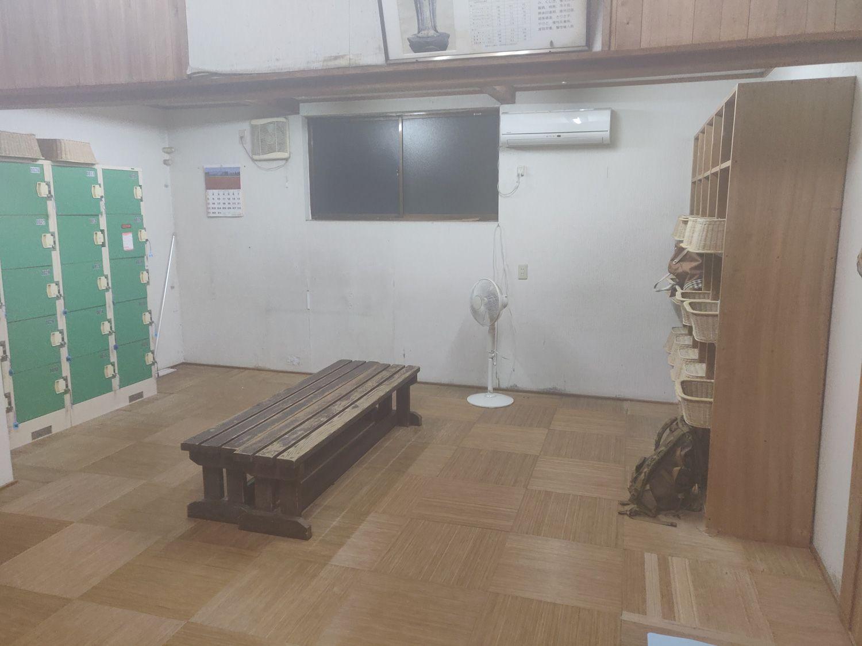 倉渕温泉 脱衣場