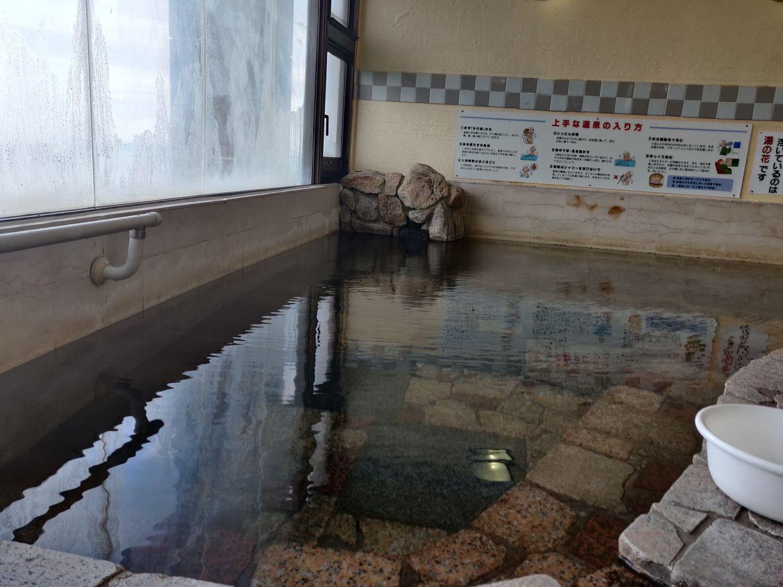 椿温泉 しらさぎ 大浴槽