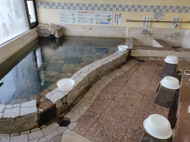 椿温泉 しらさぎ 大浴場