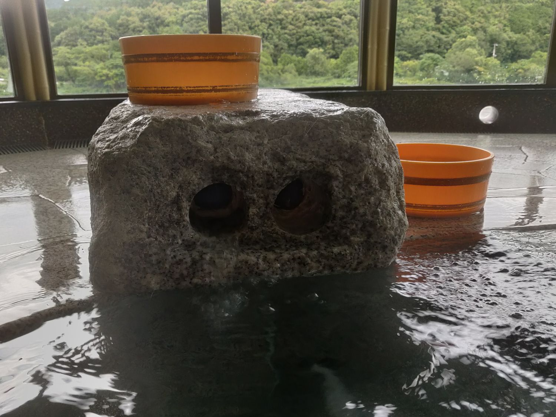 えびね温泉 湯口