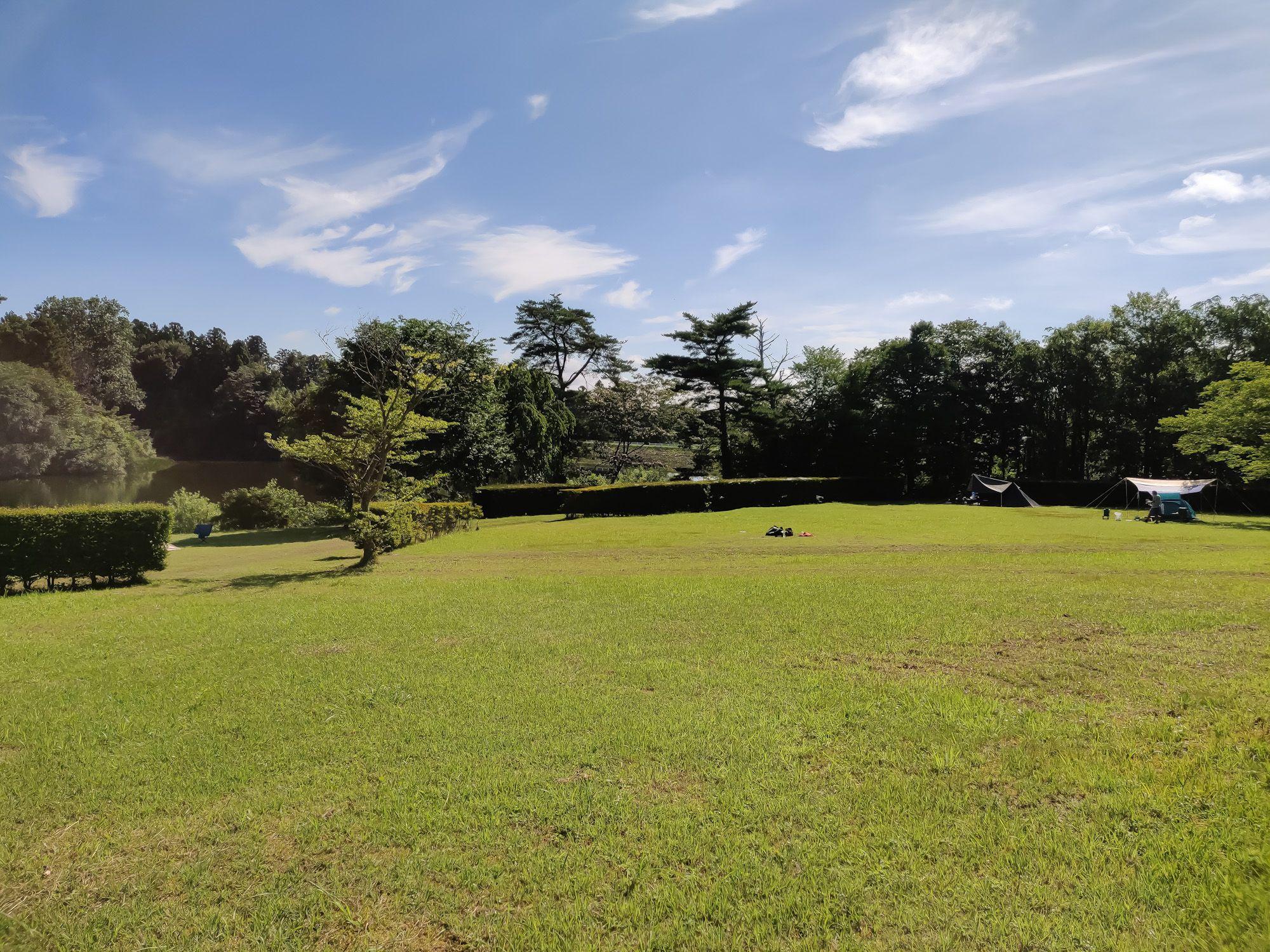 高清水新堤自然公園キャンプ場 (2020/7/23)