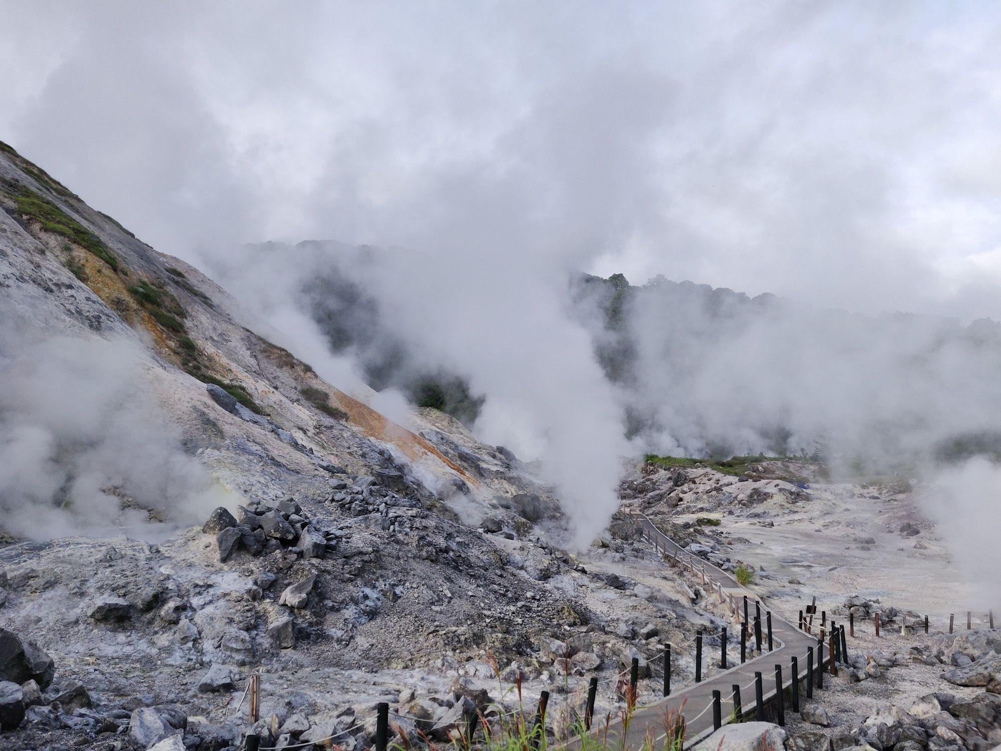玉川温泉 噴気