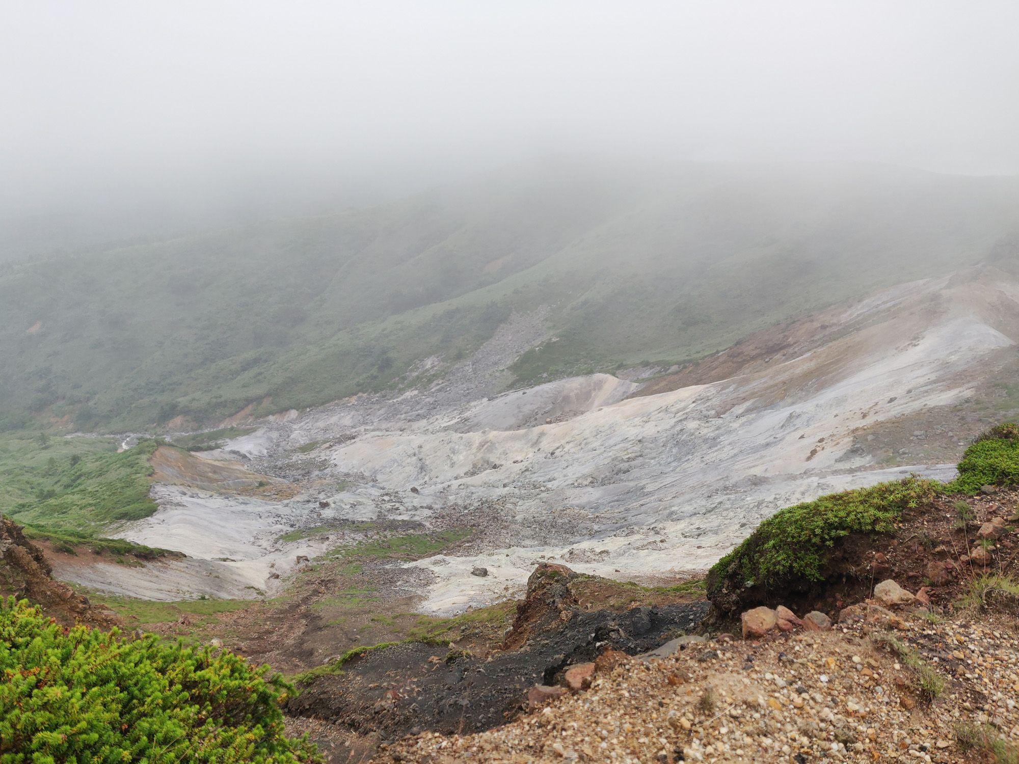 焼山登山道 変質帯