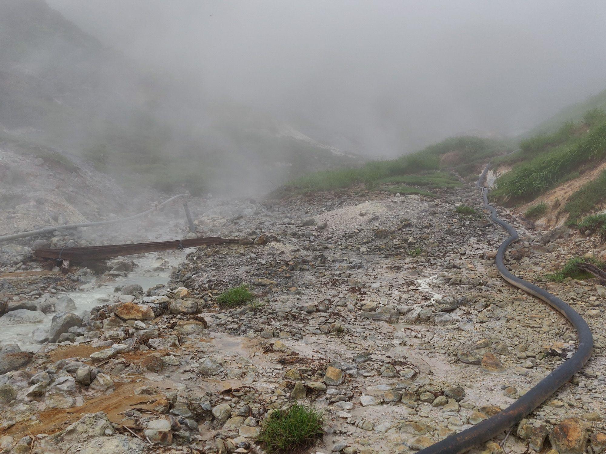 奥藤七温泉 風景