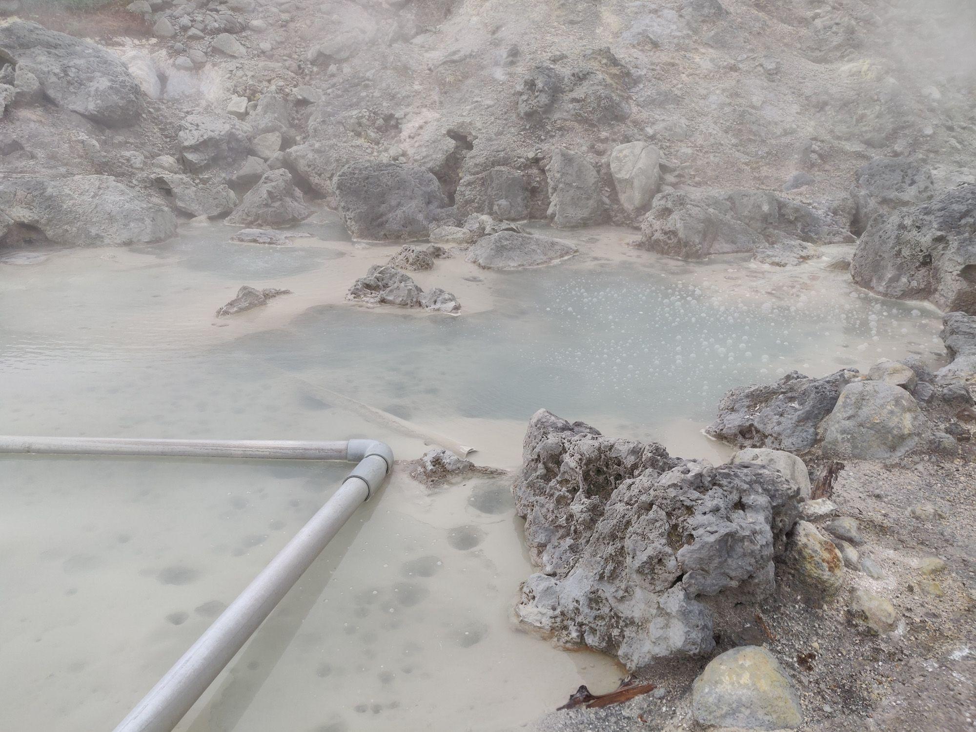 奥藤七温泉 もう1つの浴槽