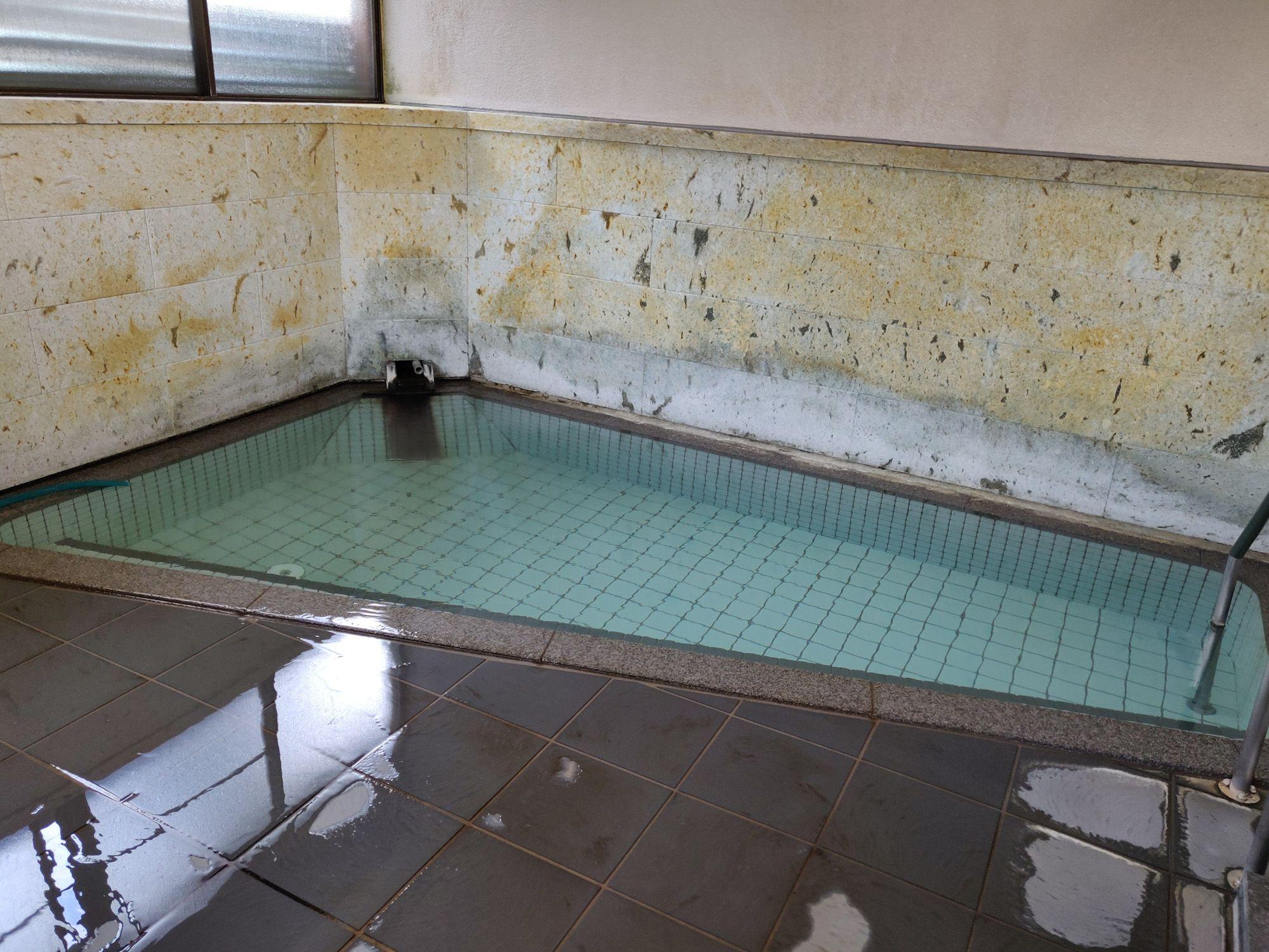 秋保温泉 佐藤屋旅館 浴槽