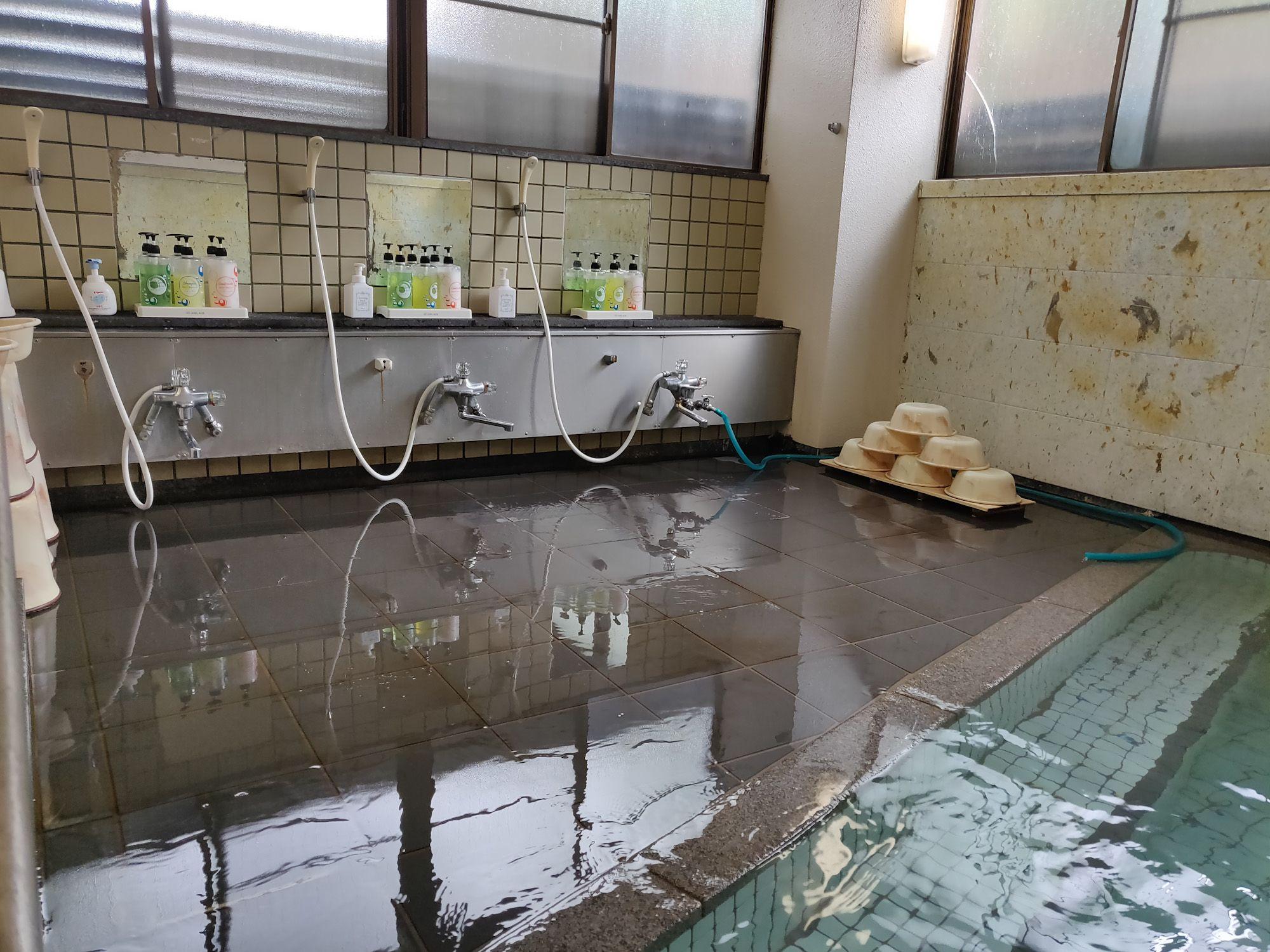 秋保温泉 佐藤屋旅館 浴場