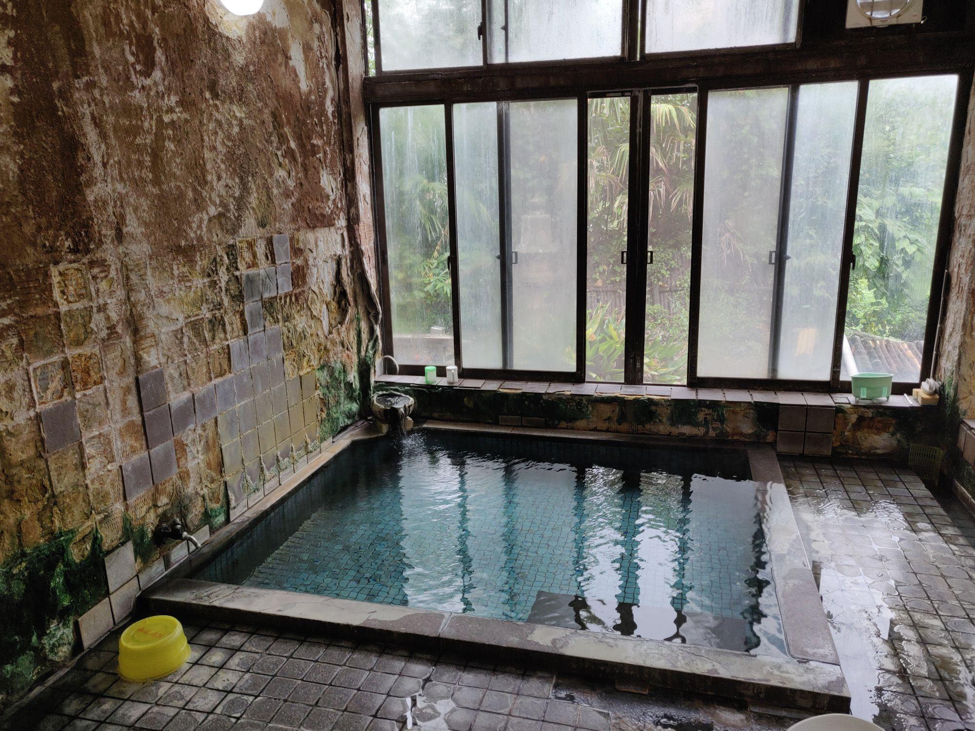 咲花温泉柳水園 浴室