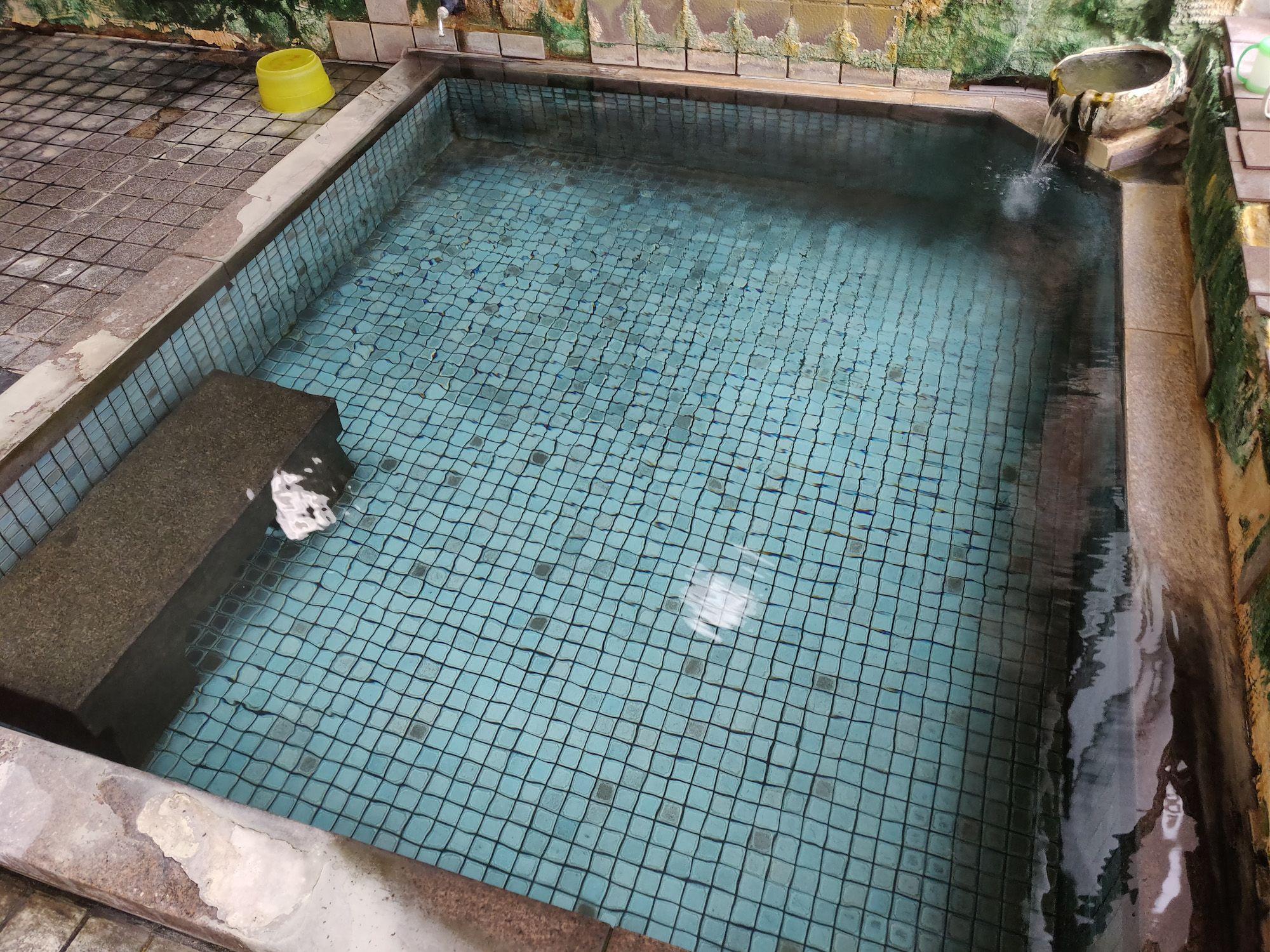 咲花温泉柳水園 浴槽