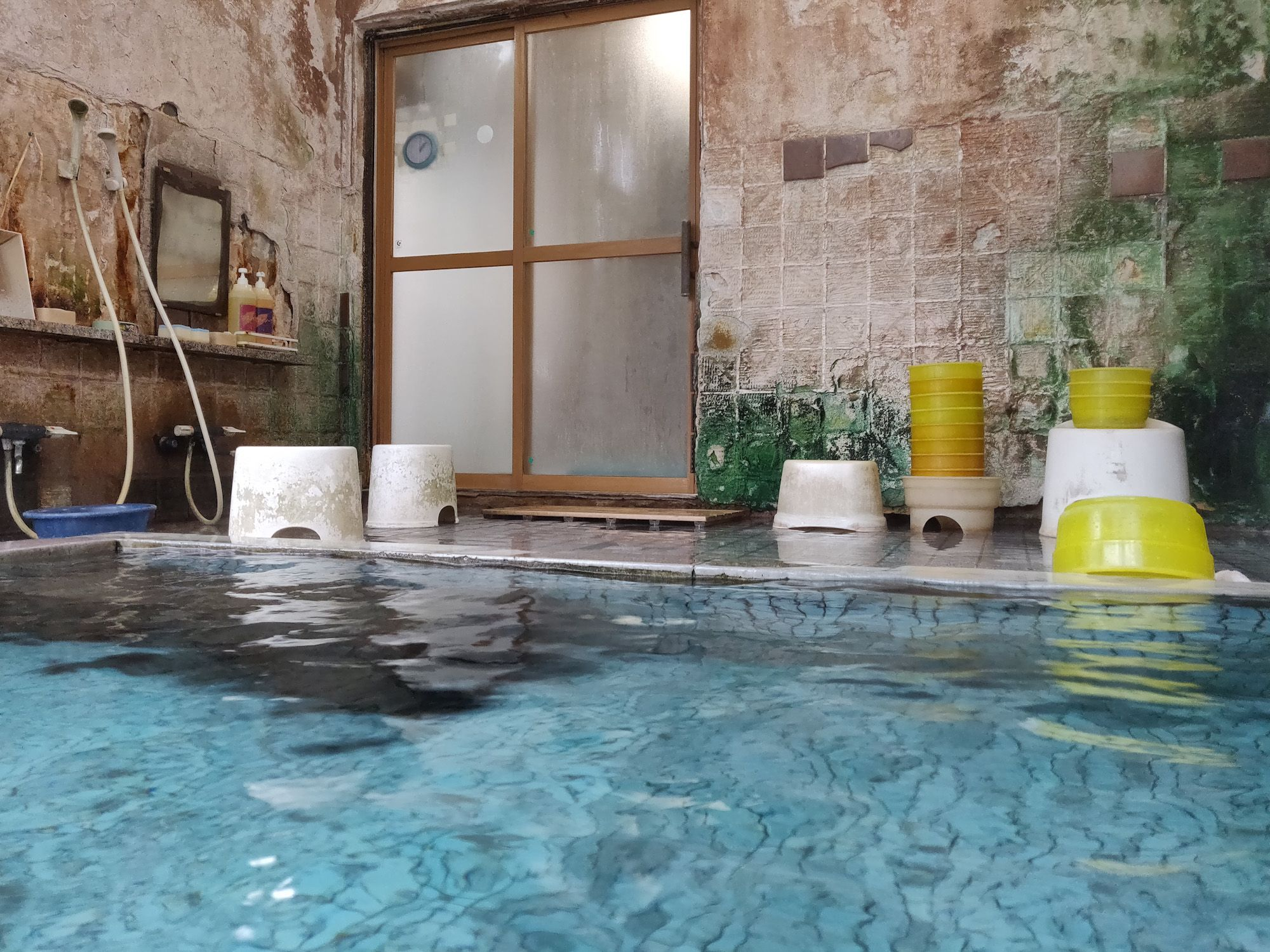 咲花温泉柳水園 入浴中目線