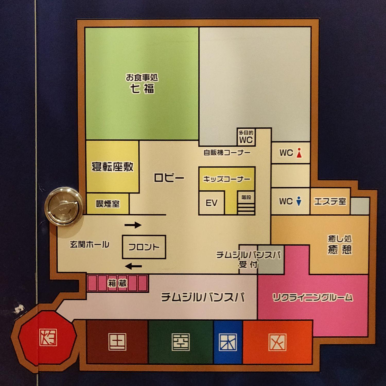 館内図 1F