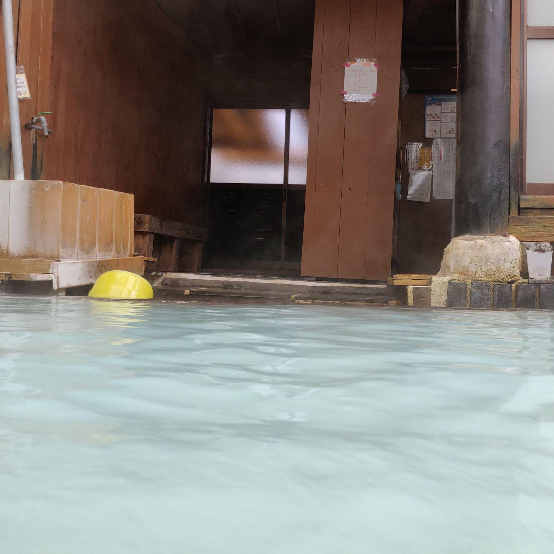 男湯入浴中目線