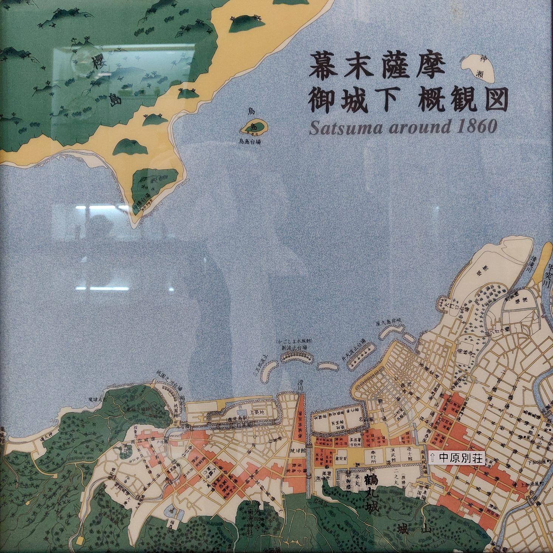 幕末薩摩御城下 概観図
